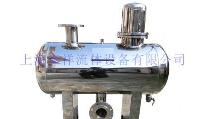 卧式无负压稳流罐直径400_上海奉祥厂家直销